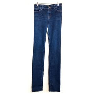 J Brand Low Rise Medium Wash Skinny Jeans